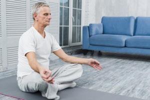 preparar o corpo e a mente para a meditação