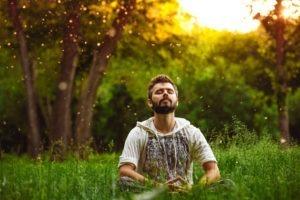 Meditação contra depressão