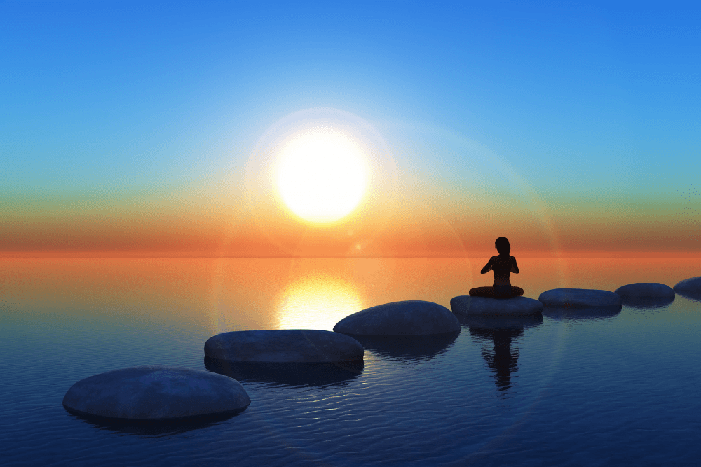 Mantenha a saúde mental durante a quarentena praticando meditação